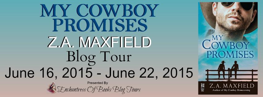 Blogtour Review: My Cowboy Promises - Z.A. Maxfield