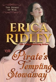 The Pirate's Tempting Stowaway cover - (un)Conventional Bookviews
