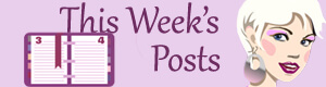 This Week's Posts - (un)Conventional Bookviews - Sunday post wrap-up