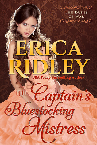 The Captain's Bluestocking Mistress by Erica Ridley