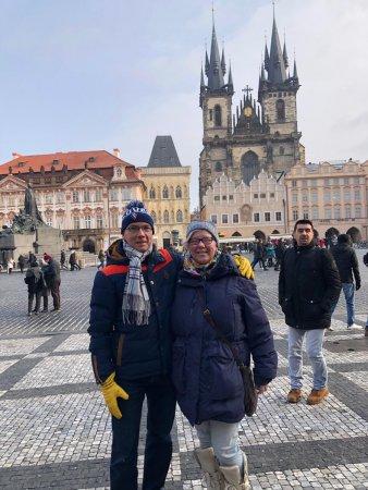 Mr. Lex and I in Prague