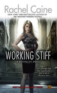 Working Stiff cover - (un)Conventional Bookworms - Weekend Wrap-up