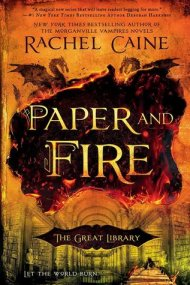 Paper and Fire cover - (un)Conventional Bookworms - Weekend Wrap-up
